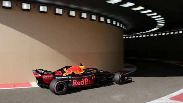 Motor racing - Verstappen leads Red Bull one-two in Abu Dhabi practice