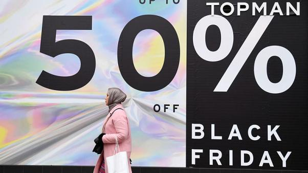 Black Friday transactions up, sales down, early data shows