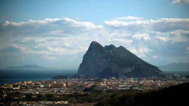 Vue générale du Rocher de Gibraltar, en octobre 2018