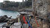 Portofino, lunedì posizionata passerella