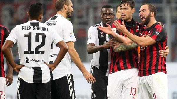 Milan: no a ricorso,2 turni stop Higuain