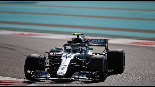 F1: Bottas il più veloce 2/e libere