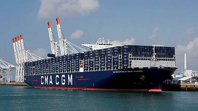 CMA CGM posts brisk Q3 volumes, sees no trade war hit for now