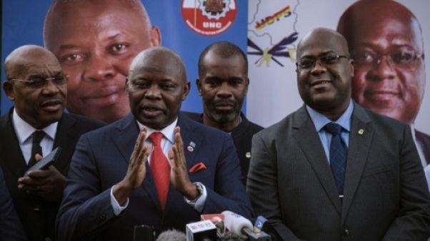 Présidentielle en RDC: Vital Kamerhe se désiste en faveur de Félix Tshisekedi