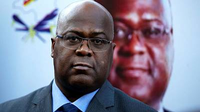 Congo's Tshisekedi wins rival's backing in presidential race