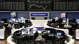 أسهم أوروبا تنخفض للأسبوع الثاني مع استمرار المخاوف بشأن النمو والتجارة