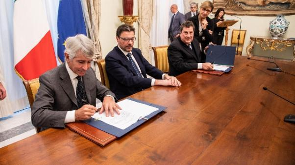 Accordo Ics-Ceb, 150 mln per impianti