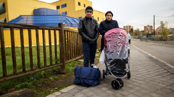 Wary of Trump's U.S., Central American migrants find only despair in Spain