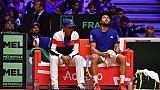 Coupe Davis: Chardy et Tsonga, paris perdants de Noah