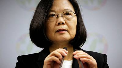 Setback for Taiwan ruling party in elections watched by China