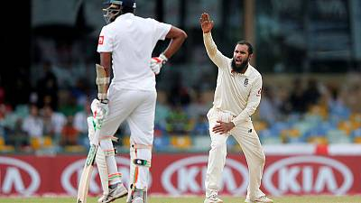 Cricket - Rashid and Stokes wreck Sri Lanka, England in charge