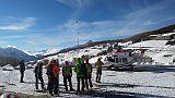 Valanga Sestriere,salvi due scialpinisti