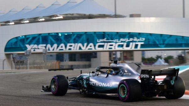 GP d'Abou Dhabi: Lewis Hamilton en pole position