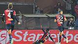 Genoa incontra tifosi, poi allenamento