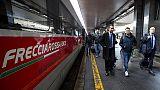 Tifosi Roma con biglietti treno falsi