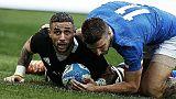 Rugby: Italia-Nuova Zelanda 3-66