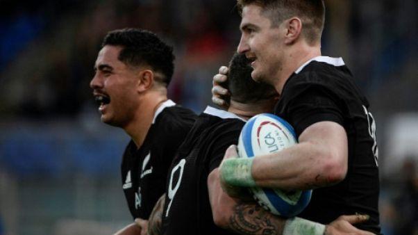 Rugby: les All Blacks se vengent sur l'Italie