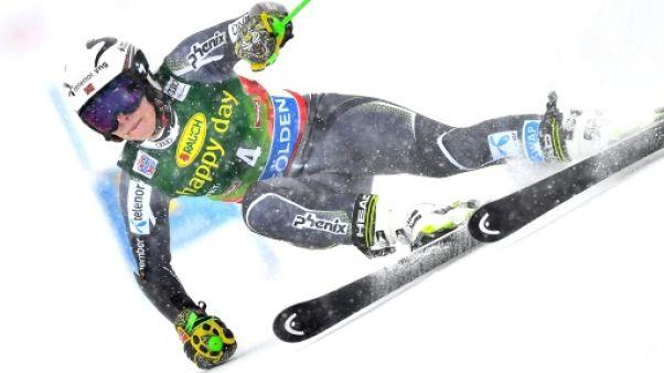 Ski alpin: Mowinckel en tête de la 1re manche du géant de Killington, Worley et Shiffrin en chasse