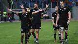 Rugby - Ten-try All Blacks smash Italy to wrap up European tour