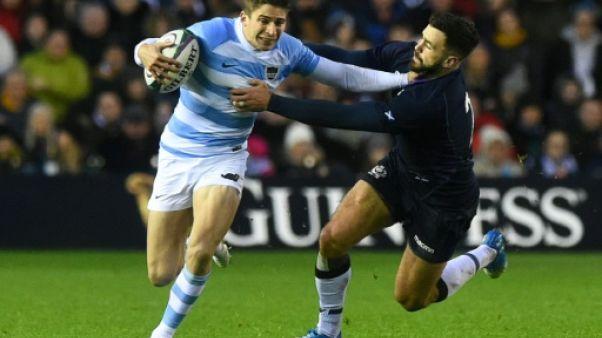 Rugby: l'Argentine, battue en Ecosse, repart fanny de sa tournée européenne