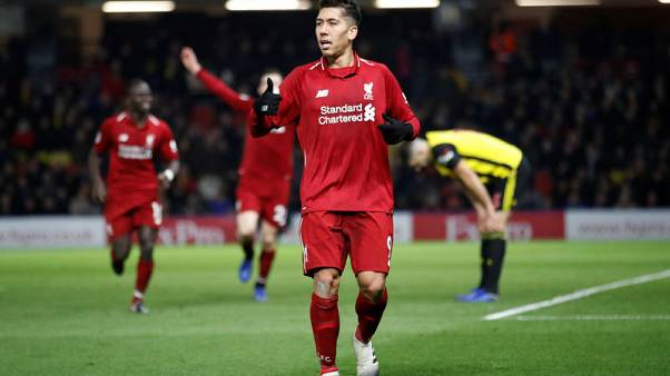 Liverpool ease to victory at Watford to maintain pressure on City