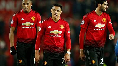 Toothless Manchester United held to 0-0 home draw by Palace