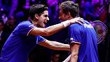France stay alive in Davis Cup final after doubles win