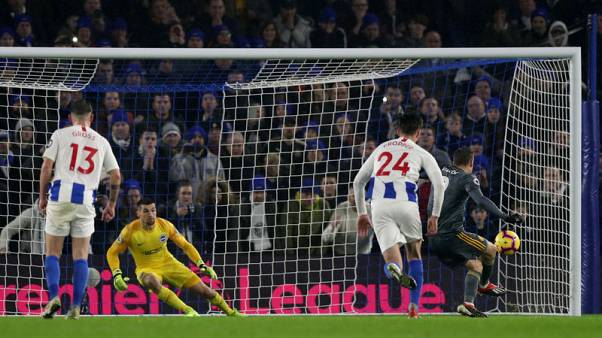 Vardy's late goal rescues point for Leicester