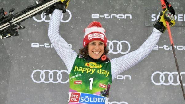 Ski: Brignone remporte le géant de Killington, pas de podium pour Shiffrin et Worley