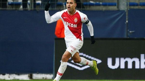 Ligue 1: Falcao délivre Monaco qui gagne enfin à Caen