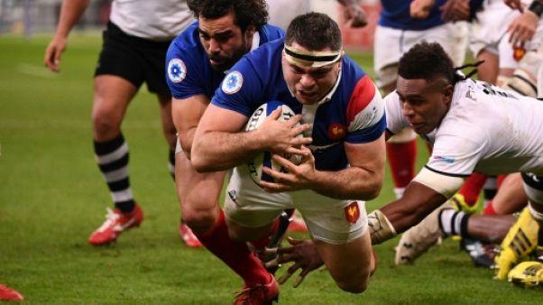 Le XV de France mène à la mi-temps devant les Fidji 14 à 12