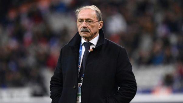 """XV de France: """"Une grande déception"""" pour Jacques Brunel"""