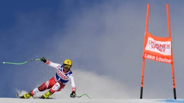 Alpine skiing - Franz wins opening World Cup downhill in Lake Louise