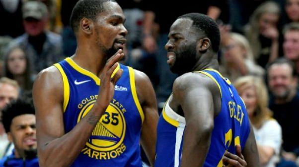 NBA: éclaircie pour Golden State, Houston et OKC dans le brouillard