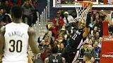بورتر يسجل 29 نقطة في انتصار ويزاردز على بليكانز في دوري السلة