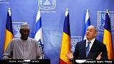 Israel's Netanyahu tells Chad leader he will visit more Arab states soon