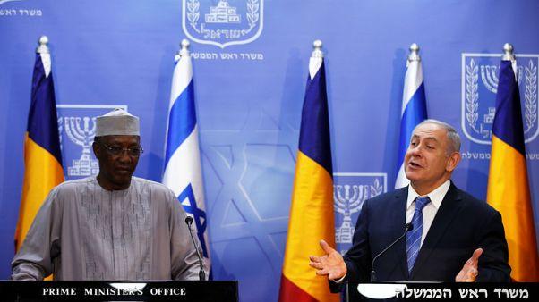 Israel's Netanyahu tells Chad leader he will visit more Arab states soon
