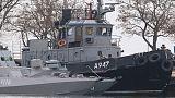 Russia fires on and seizes Ukrainian ships near annexed Crimea