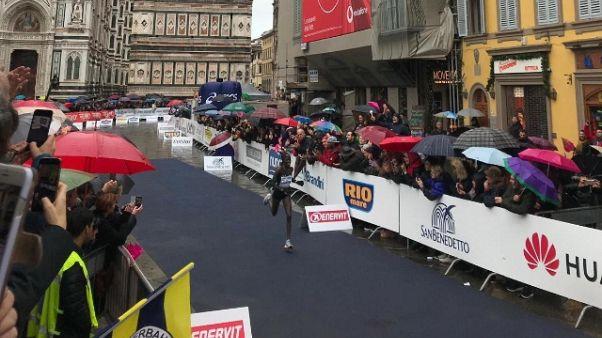 Firenze marathon, vince Gelelchu