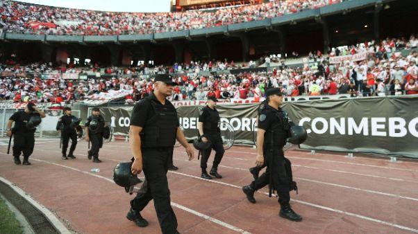 """Libertadores: Argentina-choc """"Vergogna"""""""
