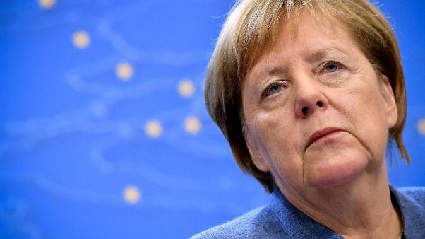 Manovra: Merkel, spero intesa Italia-Ue
