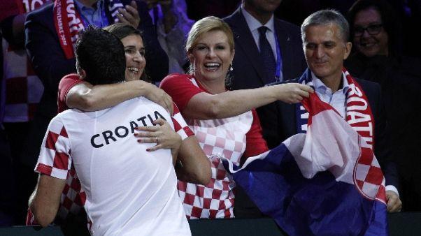 Tennis: Croazia vince la Coppa Davis