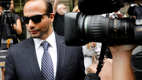 U.S. judge orders former Trump campaign adviser Papadopoulos to jail