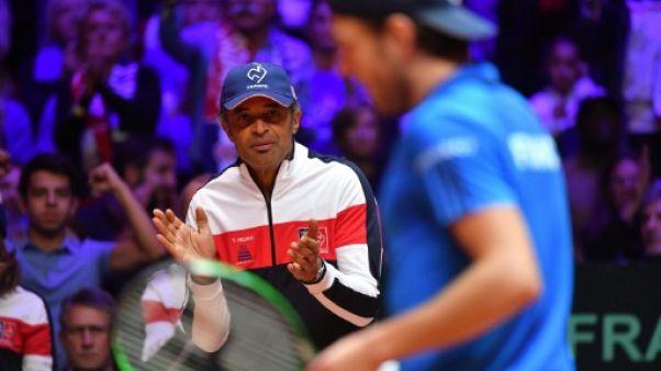 """Coupe Davis: Monfils ? """"Je pensais que ce serait mon joueur de base..."""", déclare Noah"""