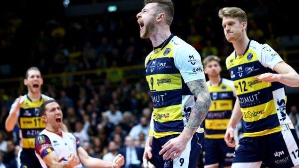 Pallavolo: Superlega, Perugia che botta