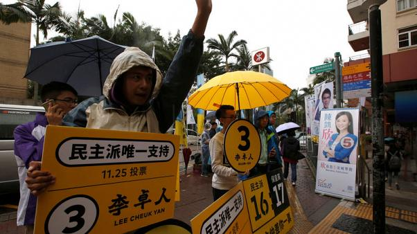 Hong Kong democrats fail to regain veto power in crucial by-election