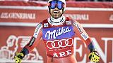 Sci: Cdm,a Jansrud SuperG di Lake Louise