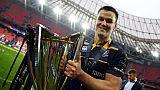 Rugby: l'Irlandais Johnny Sexton élu meilleur joueur de l'année