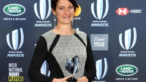 Rugby: la Française Jessy Trémoulière élue joueuse de l'année