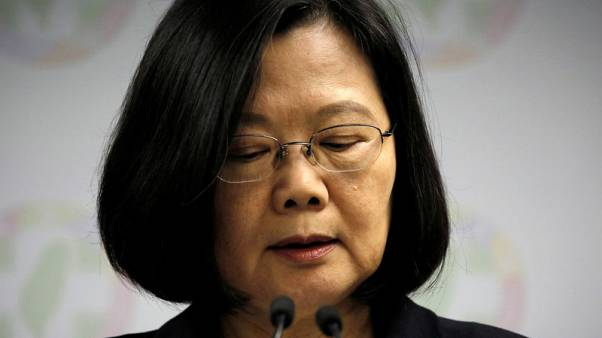 China heaps pressure on Taiwan president after election defeat